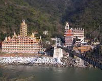 Trekking in Rishikesh, India