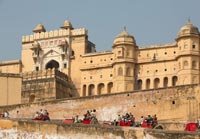 Amber Fort, City